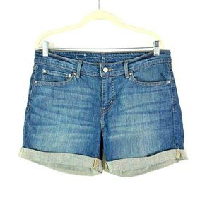 *LEVI'S Size 14/32 Stretch Cuffed Shorts